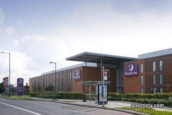 Exterior of the Heathrow Premier Travel Inn