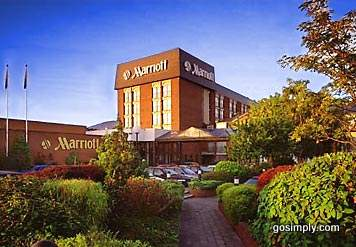 Exterior of the Slough Windsor Marriott Hotel for Heathrow