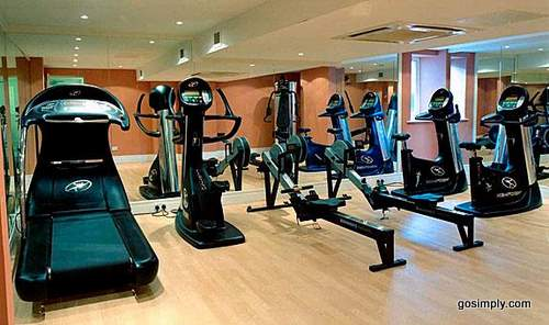 Fitness room at the Quality Hotel Heathrow