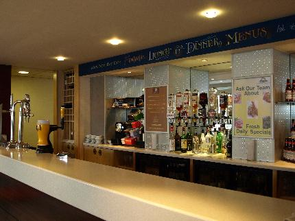 Bar at the Luton Airport Days Hotel