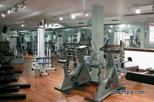 Gym at the Manchester Britannia Country House Hotel