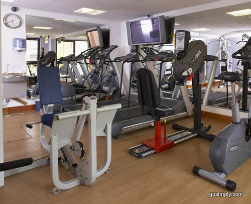 LivingWell Express Gym at the Manchester Airport Hilton Hotel