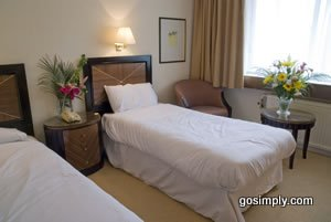 Guest room at the Britannia Manchester Airport Hotel