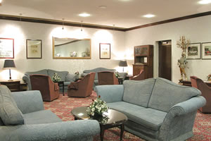 Lounge area at the Coventry Hill Hotel Birmingham Airport
