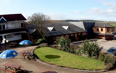 Exterior of the Bristol Airport Town and Country Lodge Hotel
