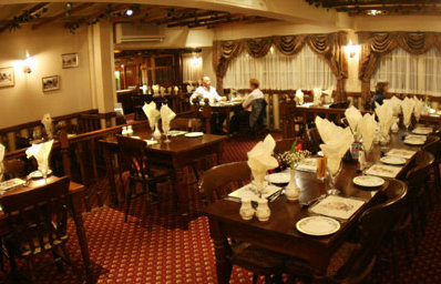 Town and Country Lodge Bristol Airport Hotel restaurant