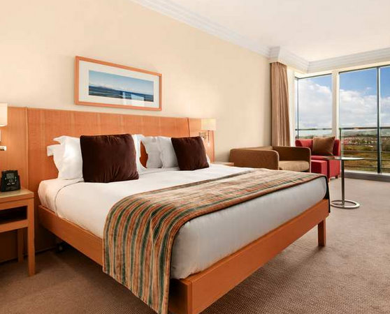 Family bedroom at the Hilton Hotel Dublin International Airport