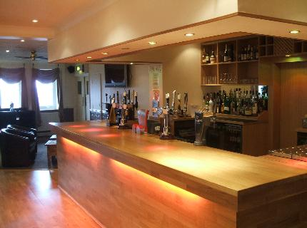 Bar at the Sky Plaza Hotel Cardiff Airport