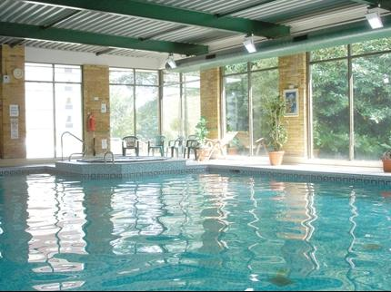 Swimming pool at the Britannia Hotel Leeds Bradford Airport