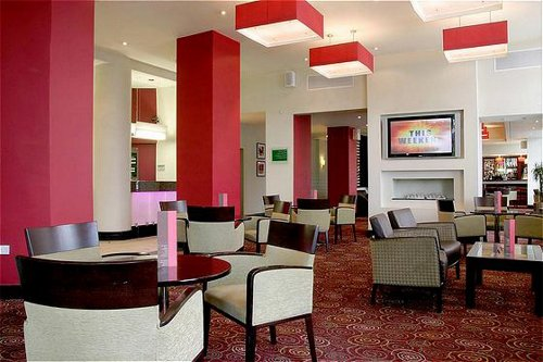 Holiday Inn Birmingham Airport bar and lounge