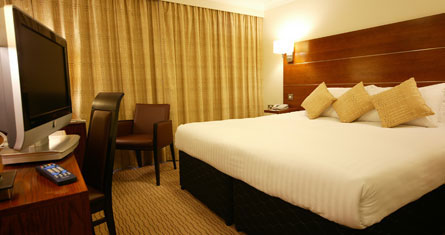 Double bedroom at the Ramada Hemel Hempstead hotel
