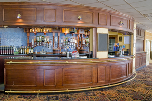 Bar at the Norbreck Castle Hotel near Blackpool Airport
