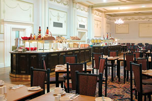 Blackpool Airport Norbreck Castle Hotel restaurant