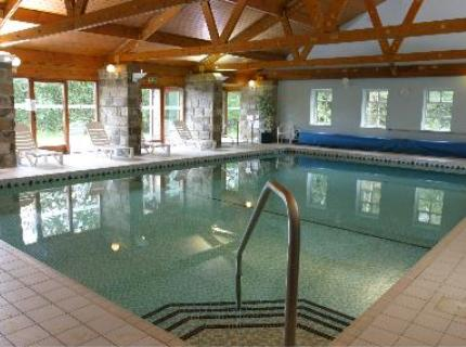 Swimming pool at the Chevin Country Park Hotel