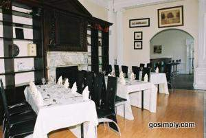 Baylis House Hotel dining area