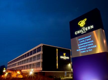 Exterior of the Chiltern Hotel Luton