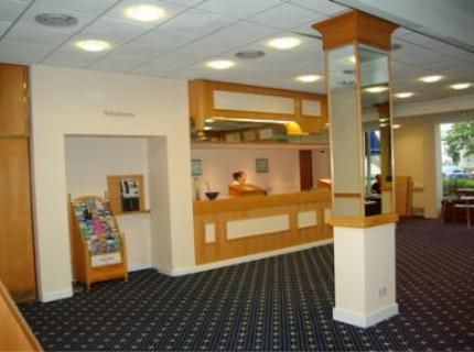 Reception area at the Chiltern Hotel Luton Airport