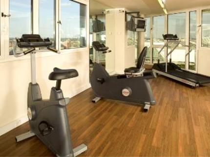 Hotel gym at the Novotel Excel London City Airport