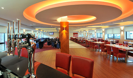 Dining room at the Ramada Encore NEC Hotel near Birmingham Airport