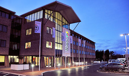 Exterior of the Birmingham Airport Ramada Encore NEC Hotel