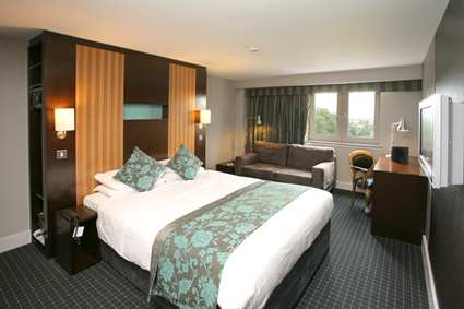 Bedroom at the Bristol Airport Doubletree by Hilton Cadbury House Hotel