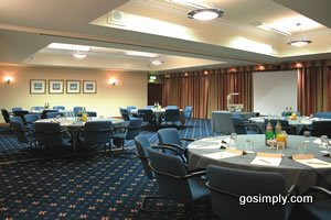 Conference room at the Britannia Hotel Aberdeen Airport