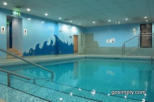 Aberdeen Airport Britannia Hotel swimming pool