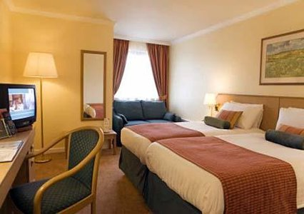 Bedroom at the Edinburgh Airport Quality Hotel
