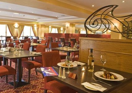 Restaurant at the Quality Hotel Edinburgh Airport
