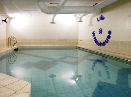 Swimming pool at the East Midlands Airport Kegworth Whitehouse Hotel