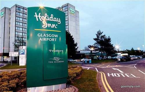 Holiday Inn at Glasgow Airport exterior