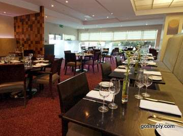 Gatwick Arora International Hotel restaurant
