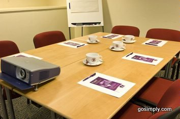 Gatwick Premier Inn Central meeting room
