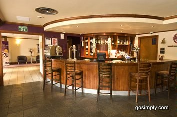 Gatwick Premier Inn East hotel bar