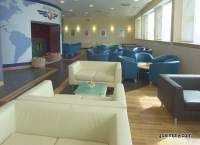 Sky Lounge at Glasgow Airport