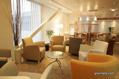 Escape Lounge at Manchester Airport