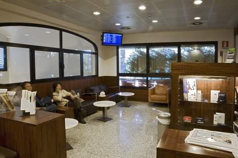 Masaccio Lounge Serving Departures Terminal Florence A