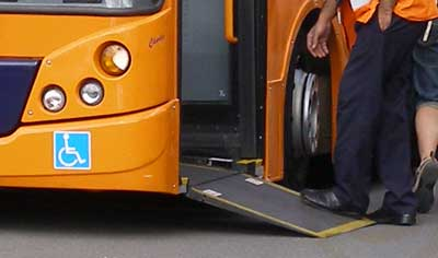 Birmingham APH Buses with Ramp access