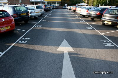 Aph park and ride for gatwick airport numbered parking bays m4hsunfo