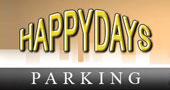 Happy Days Meet and Greet Parking Heathrow logo