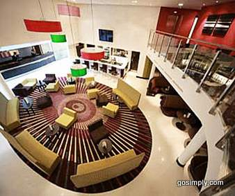 Ramada Hotel Heathrow reception area