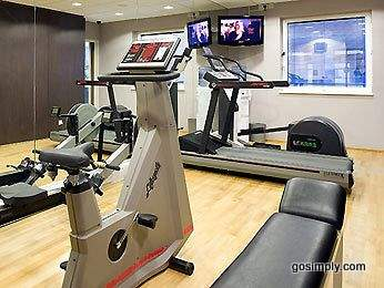 Gym at the Novotel Heathrow Airport