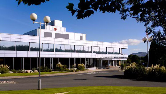 Exterior of the Marriott Hotel Edinburgh Airport