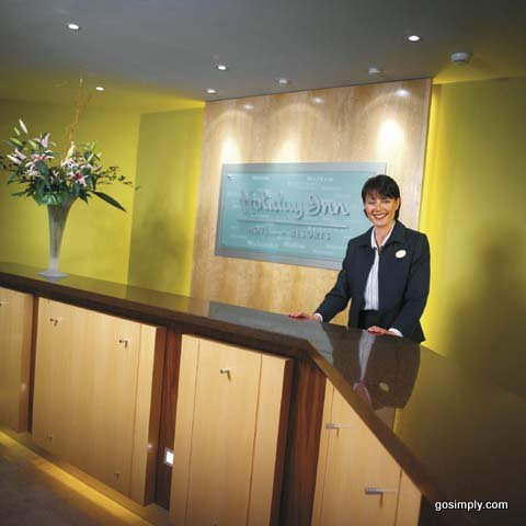Gatwick Holiday Inn Hotel reception