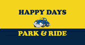 Happy Days Park and Ride logo